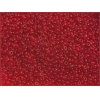 Seedbead Transparent Dark Red 10/0